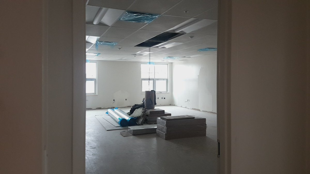 Inside the Relocatable classrooms